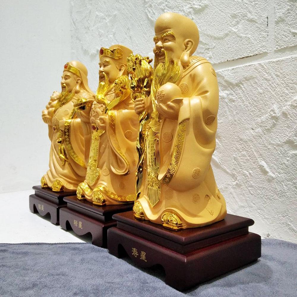 ฮกลกซิ้ว เทพเจ้า 3 เซียน ของขวัญขึ้นบ้านใหม่เสริมฮวงจุ้ย