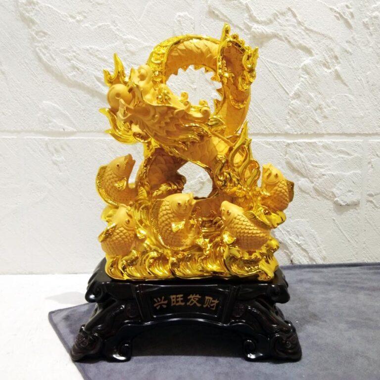 รูปปั้นมังกรจีน