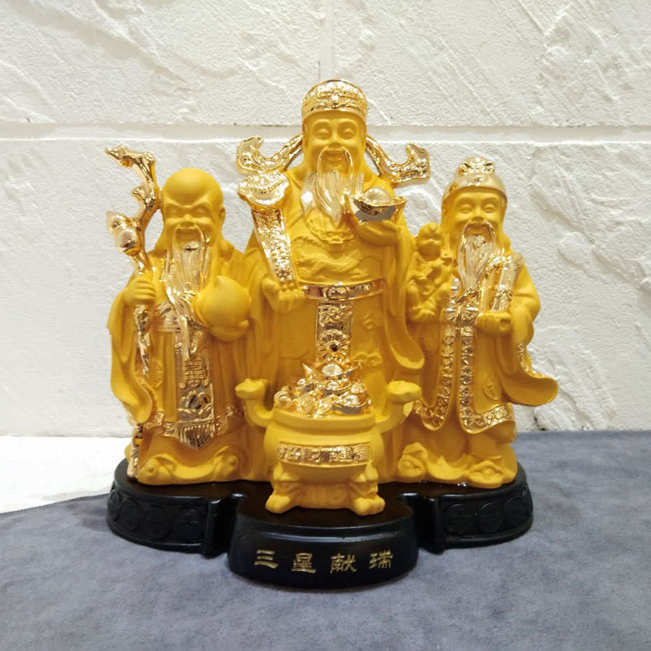 องค์เทพฮกลกซิ่ว ของขวัญวันขึ้นบ้านใหม่สำหรับเชื้อสายจีน