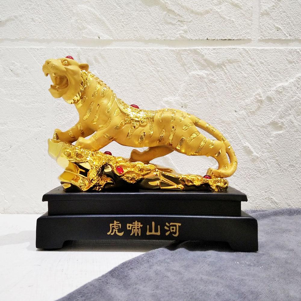 รูปปั้นเสือ ของขวัญขึ้นบ้านใหม่เสริมดวงปีขาล